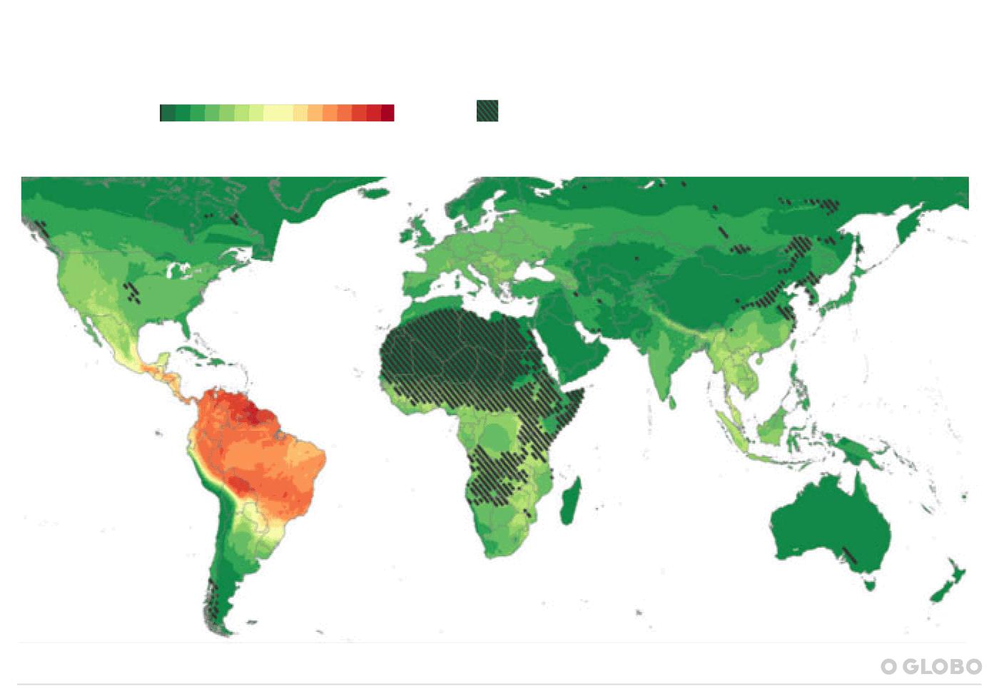 América do Sul é a região de maior risco para novas pandemias